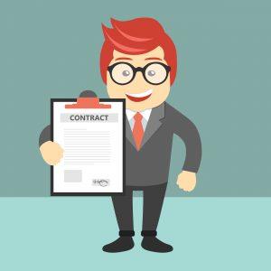 Contrato de serviços digitais